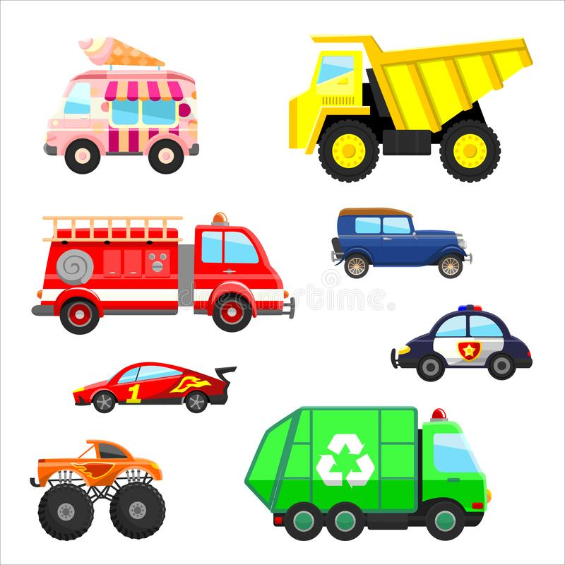Cars Trucks Stock Illustrations.