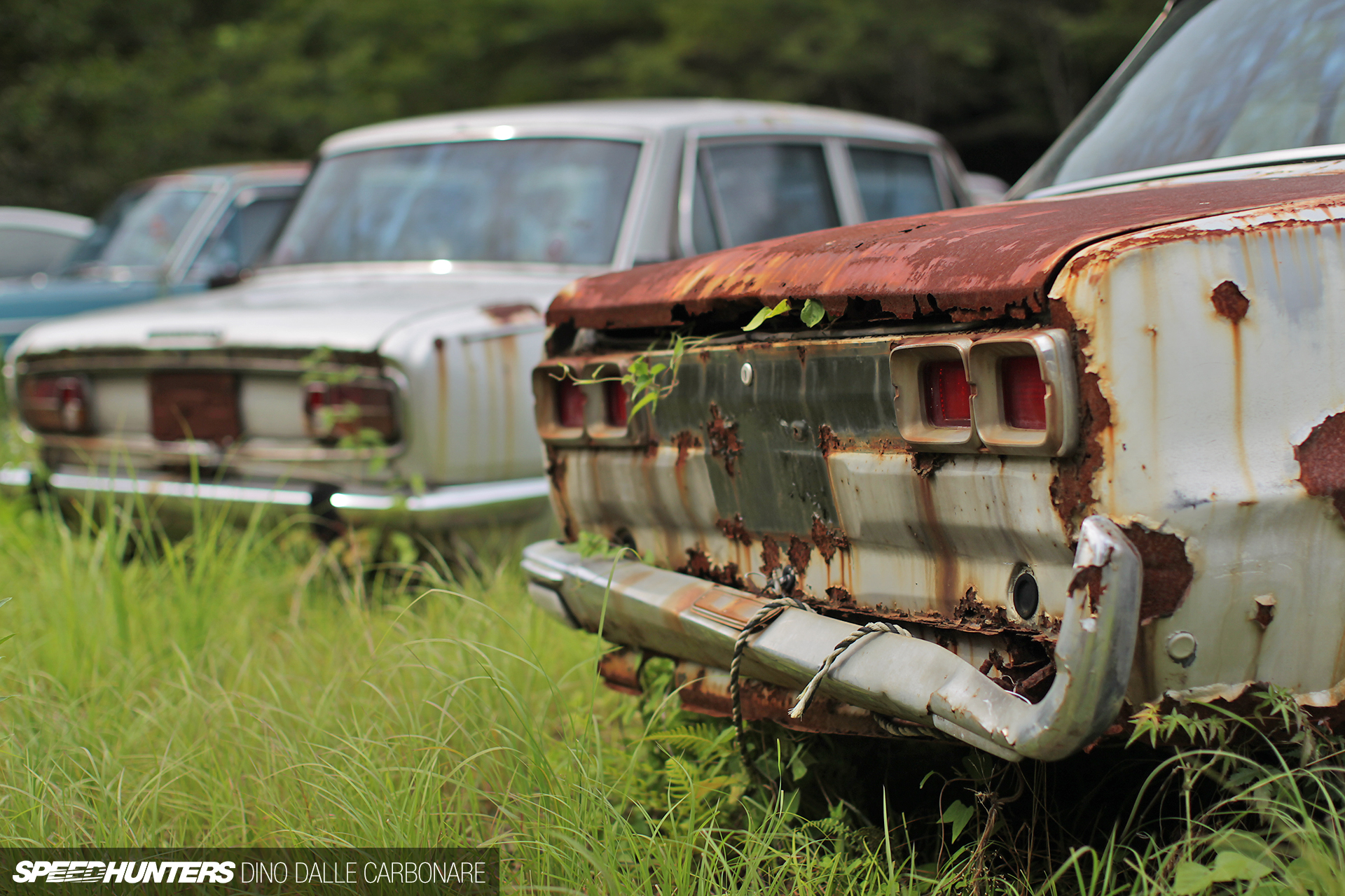 Kyusha Cemetery: Where Old JDM Cars Go To Die.