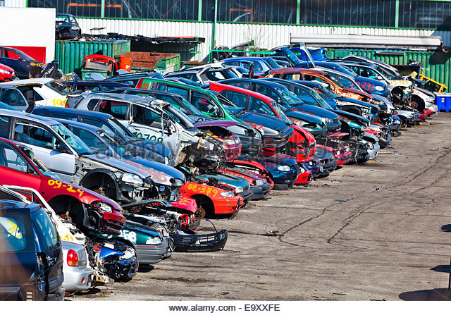 Cars Wrecks Scrap Dump Stock Photos & Cars Wrecks Scrap Dump Stock.