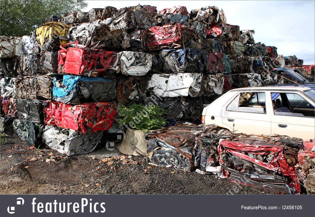 Image Of Car Cemetery.