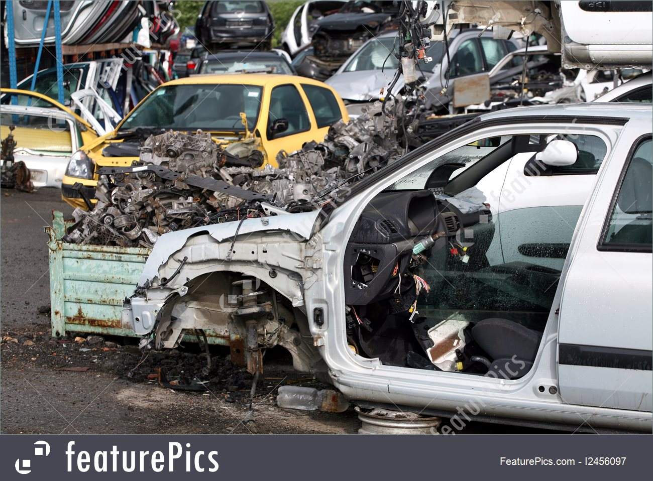 Picture Of Car Cemetery.