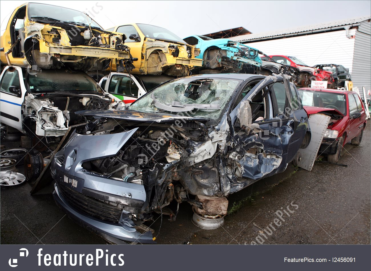 Photo Of Car Cemetery.