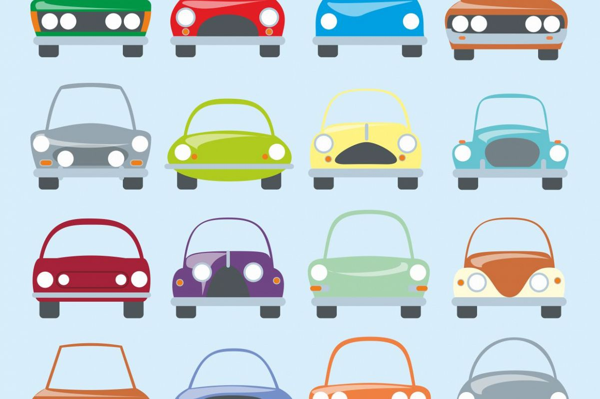 Digital cars clipart, printable car stickers, coupe car, cars clipart set,  colourful cars, cars clipart, boys graphic men graphic.