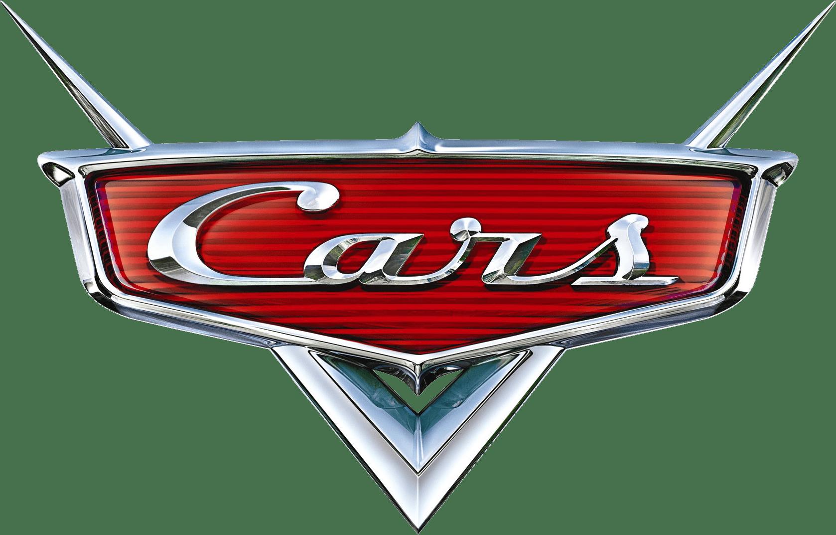 Cars Pixar Movie Logo transparent PNG.