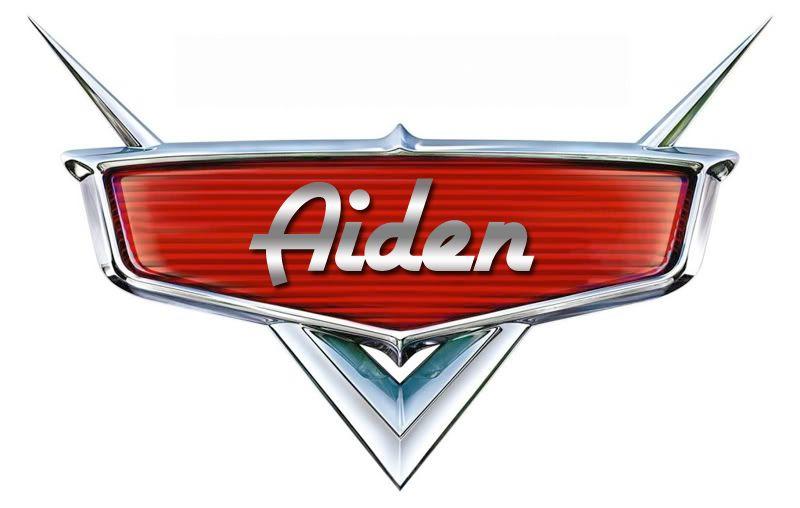 Disney Cars Name Logo.