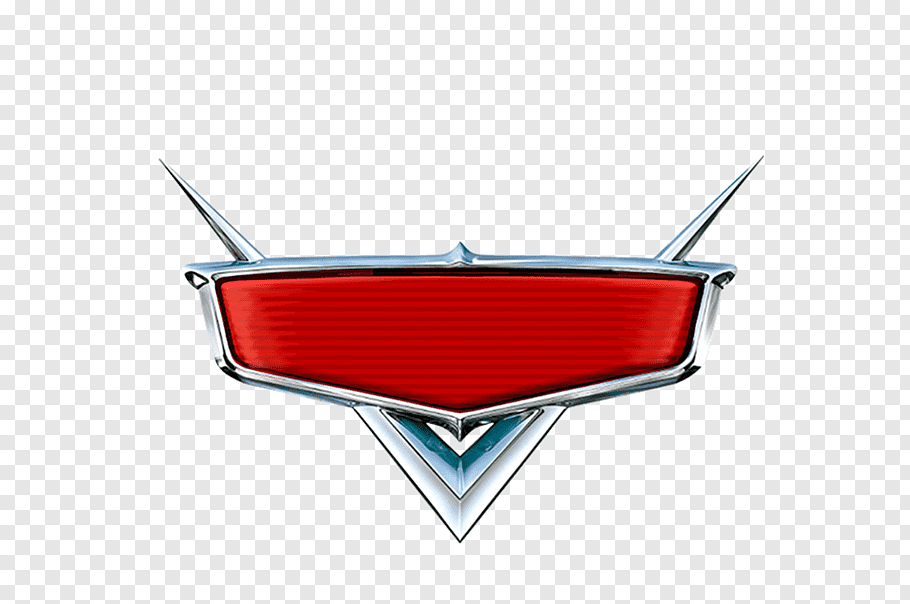 Red and gray Disney\'s Cars logo, Lightning McQueen Cars The.