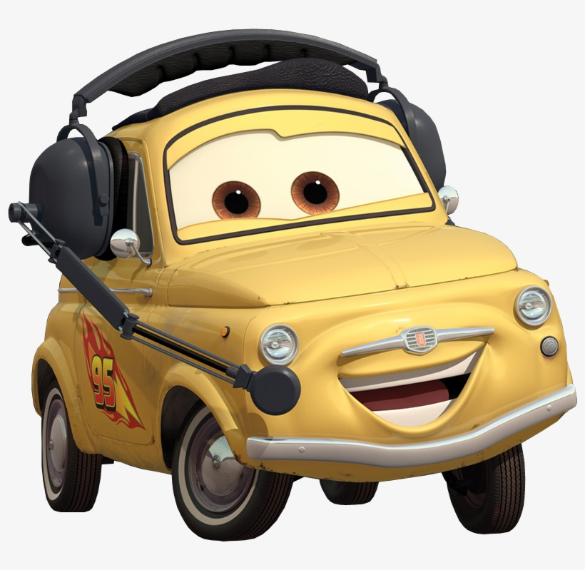 Free The Cars Movie Characters Png.