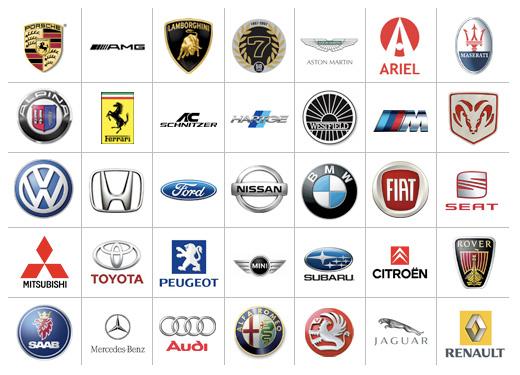 W car Logos.