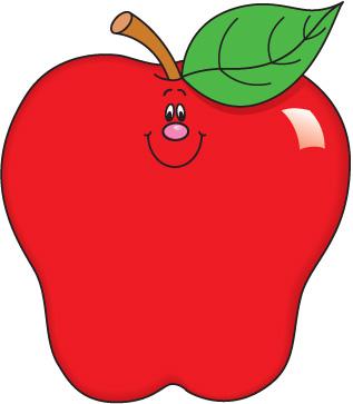 Carson Dellosa Clipart Apple.