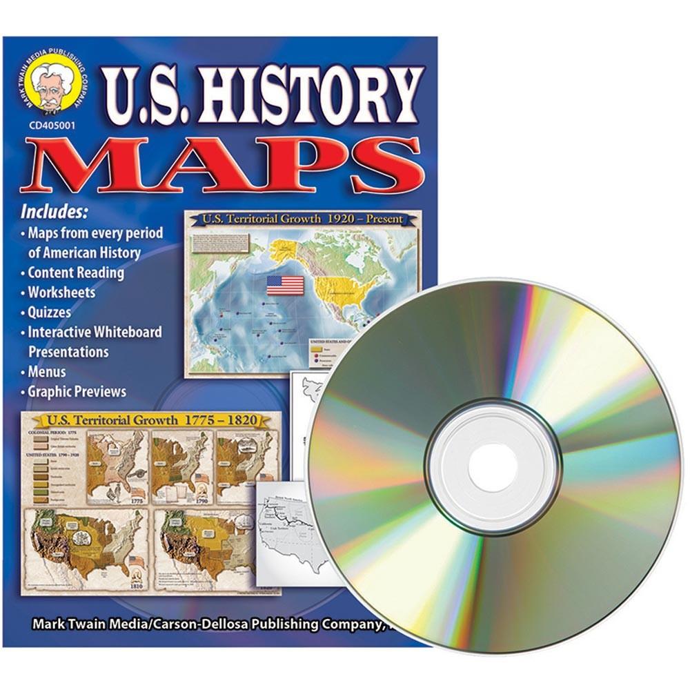 U.S. History Maps CD.