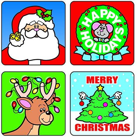 Carson Dellosa Christmas Motivational Stickers (0609).