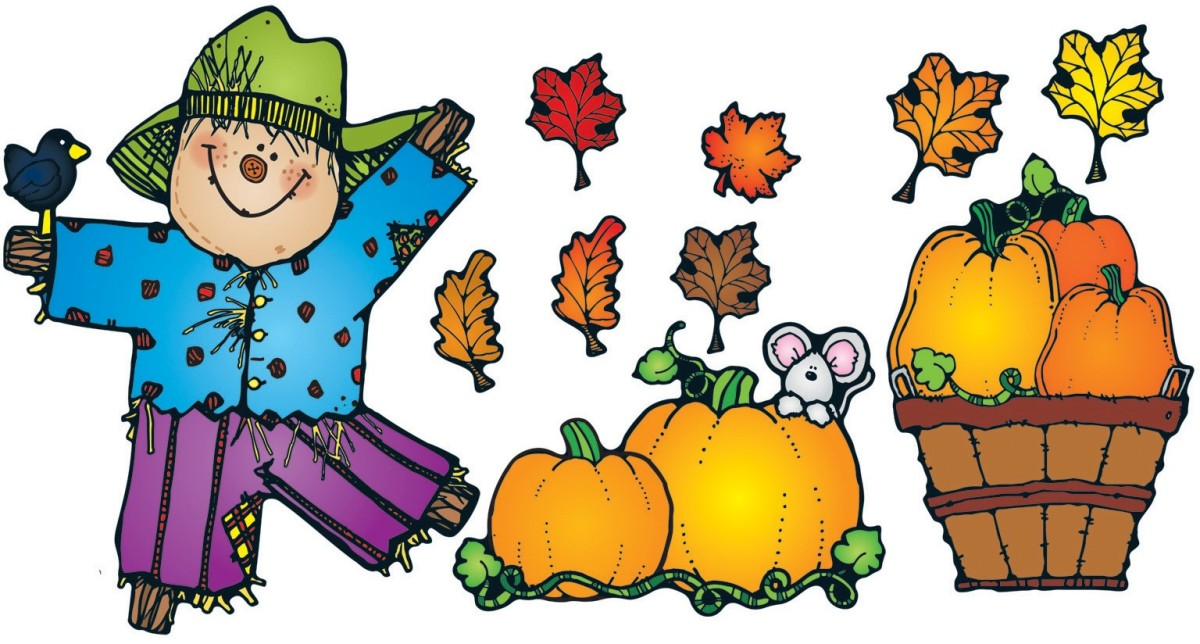 Pumpkin Patch Bulletin Board Set.