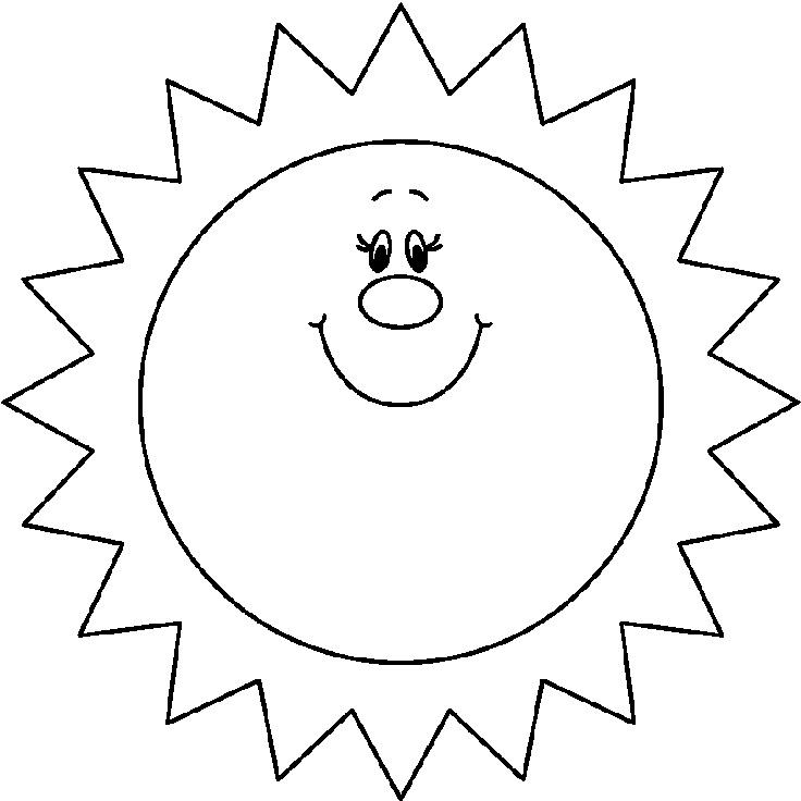 Carson Dellosa Sun Clipart.