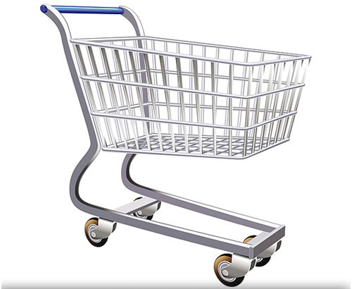 Shopping Cart Clipart.