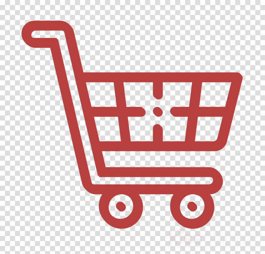 Cart icon Shopping cart icon Ecommerce icon clipart.