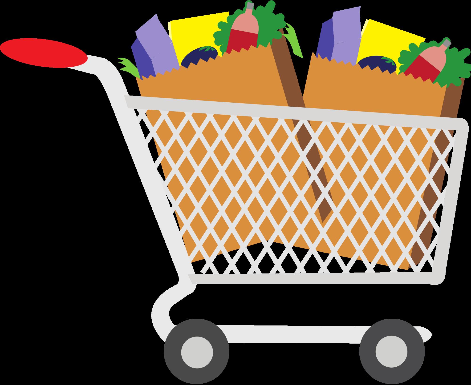 Grocery Goods Clip Art.