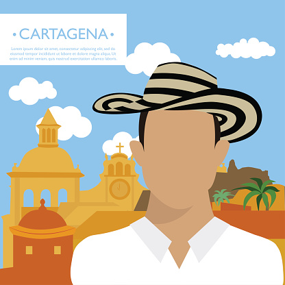 Cartagena Colombia Clip Art, Vector Images & Illustrations.