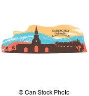 Cartagena Vector Clipart EPS Images. 23 Cartagena clip art vector.