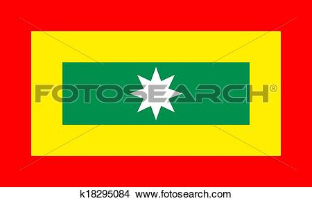 Drawings of cartagena flag k18295084.