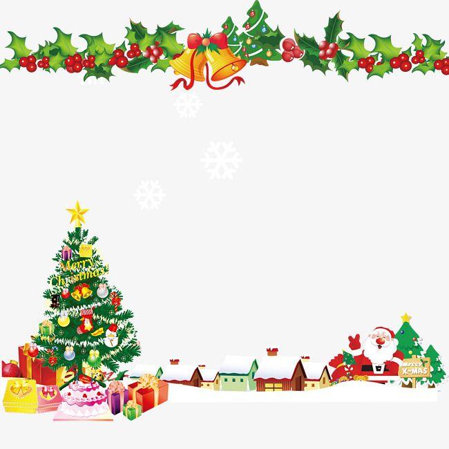 Sinos De Natal árvore De Natal Pano De Fundo.
