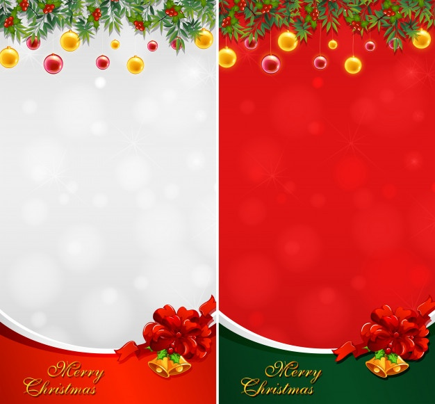 Clip Art Vector Christmas Background.
