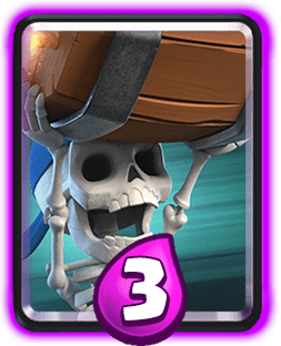 Clash Royale cards by arena.