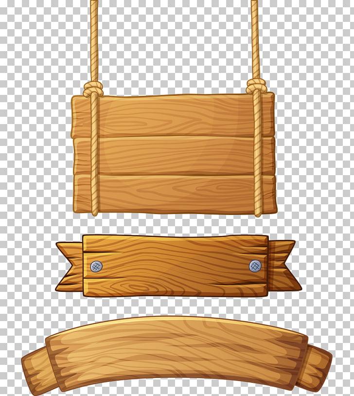 Letrero de banner madera, colección de letrero de madera.