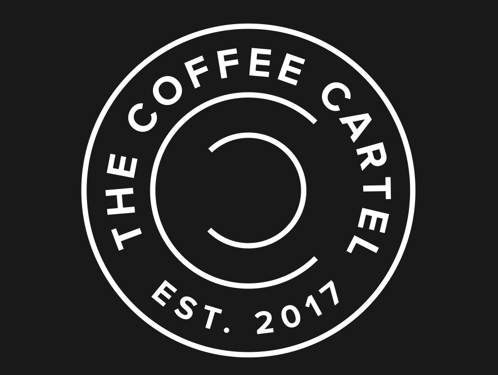 The Coffee Cartel logo — JCDC.