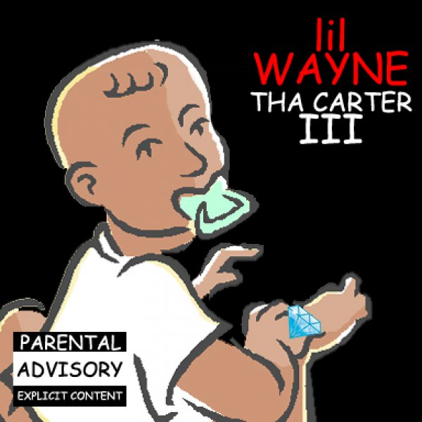 "Lil Wayne ""Tha Carter III"" Clipart Cover."