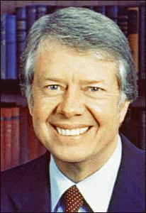 Clipart of President Jimmy Carter.