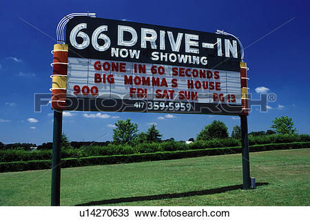 Stock Photo of Route 66, drive.
