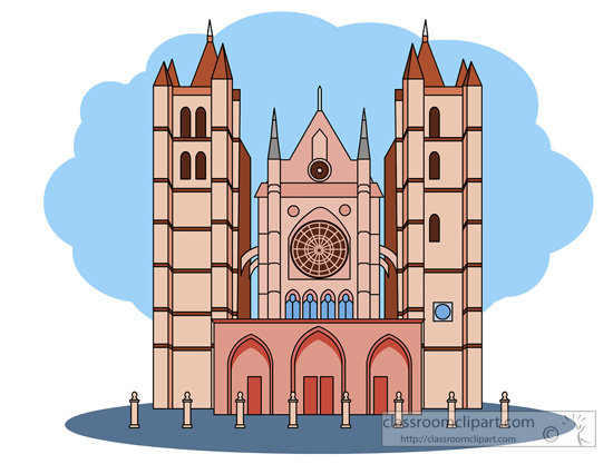 Cathedral clipart.