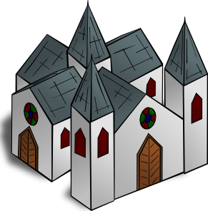 Cathedral clip art Free Vector / 4Vector.