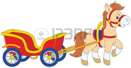 979 Cart Horse Stock Vector Illustration And Royalty Free Cart.