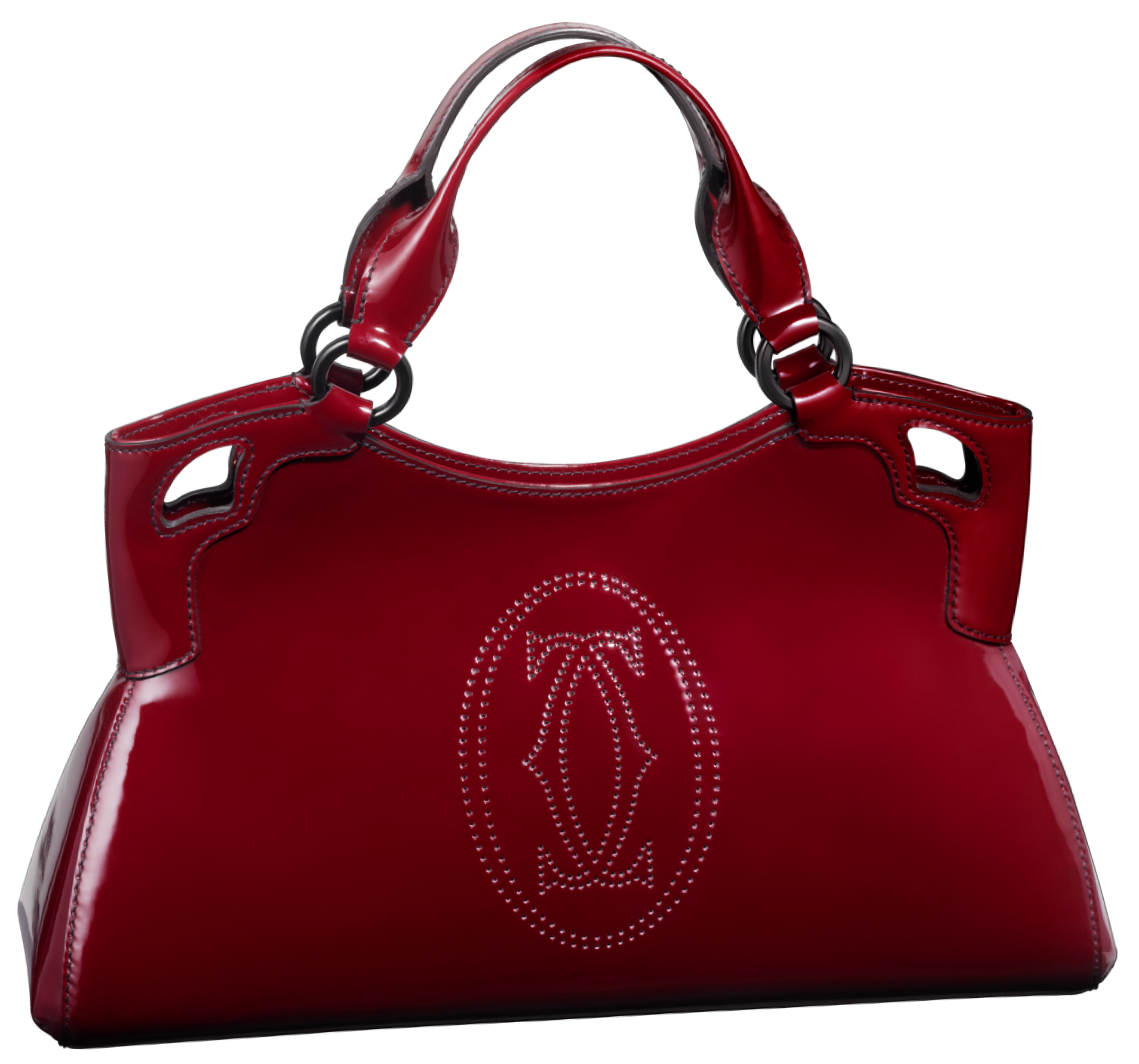 Red Cartier Handbag PNG Clip Art.