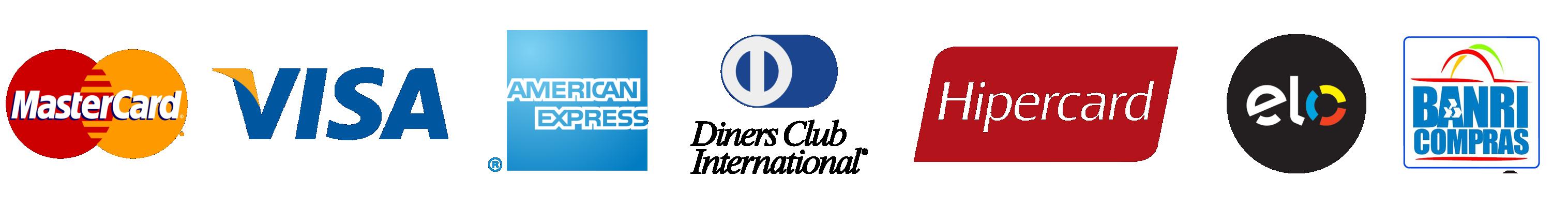 Bandeiras Cartão De Crédito Png.