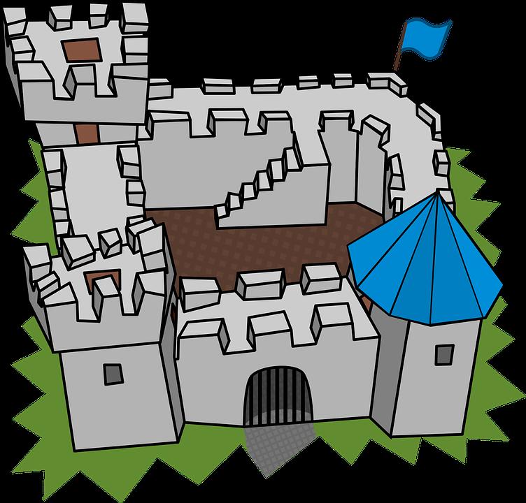 Free vector graphic: Building, Cartography, Cartoon.