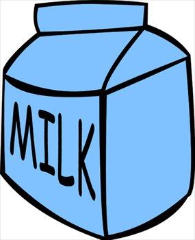 Free milk carton clipart.