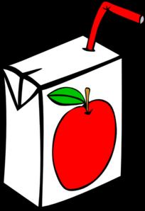 Apple Juice Carton Clip Art at Clker.com.