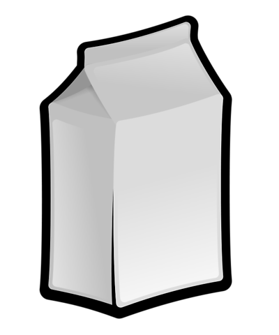 Milk Carton Clipart.