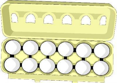 Carton of eggs clipart » Clipart Portal.