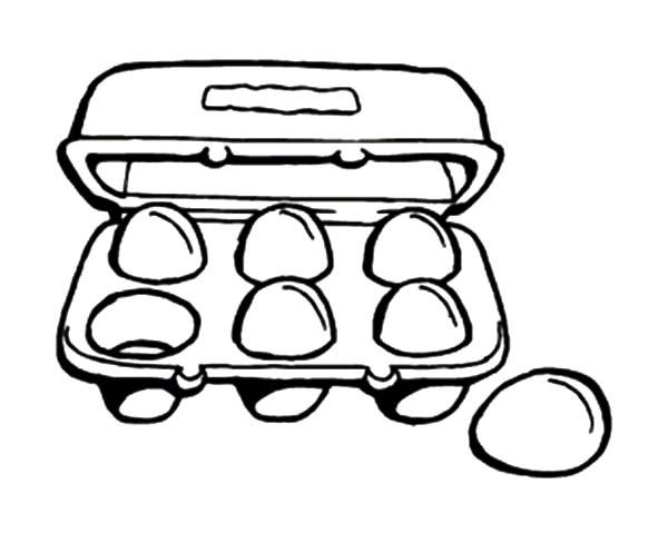 Egg Carton Clipart.