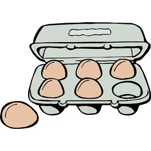 Carton of Brown Eggs clipart, cliparts of Carton of Brown Eggs free.