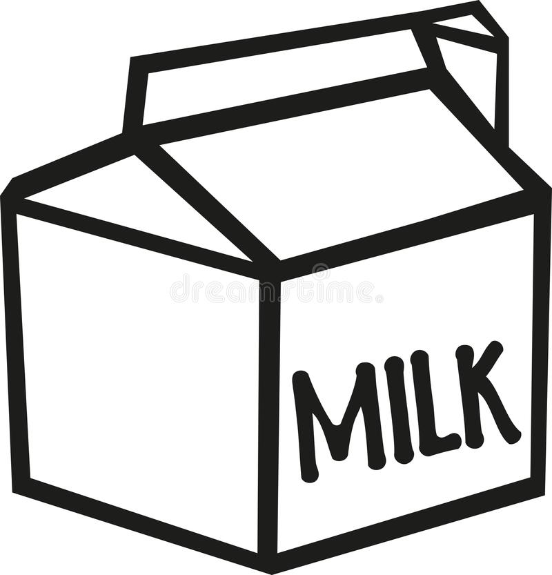 Milk Carton Stock Illustrations.