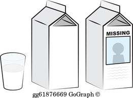Milk Carton Clip Art.