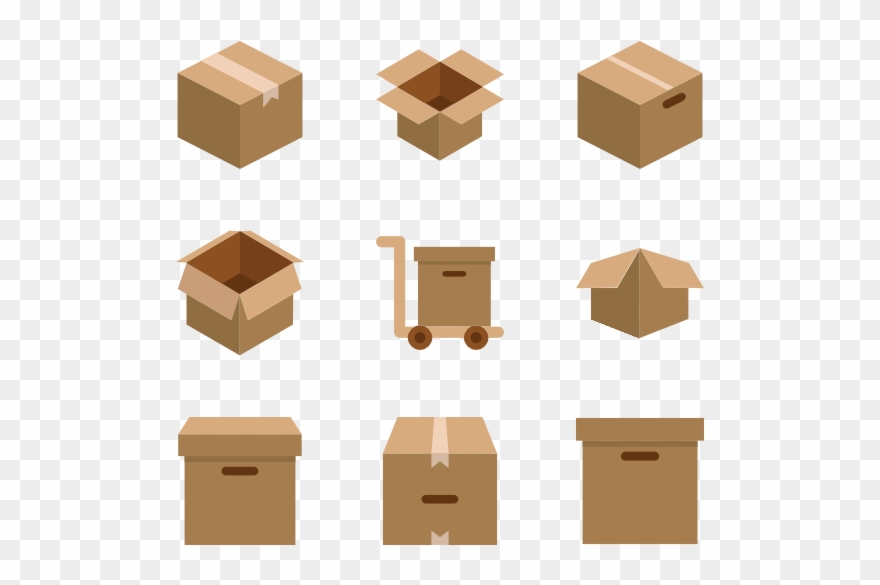 Package Vector Png Library.