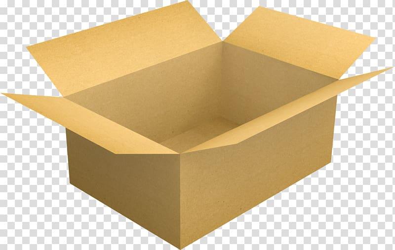Paper Cardboard box Carton, box transparent background PNG clipart.
