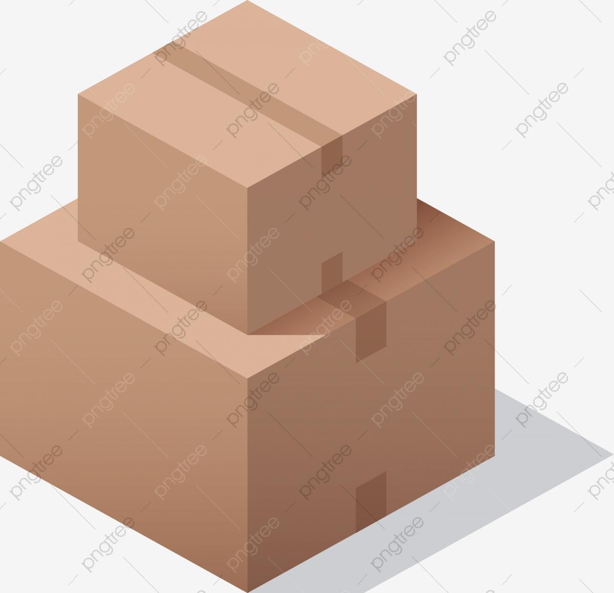 Two Cartons, Vector Png, Carton, Carton Box PNG and Vector with.