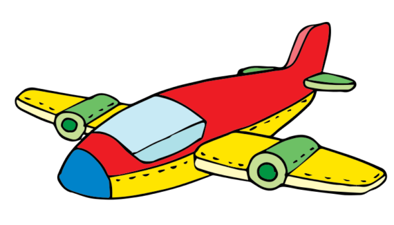 Free Clip art of Airplane Clipart #5268 Best Cartoon Airplane.