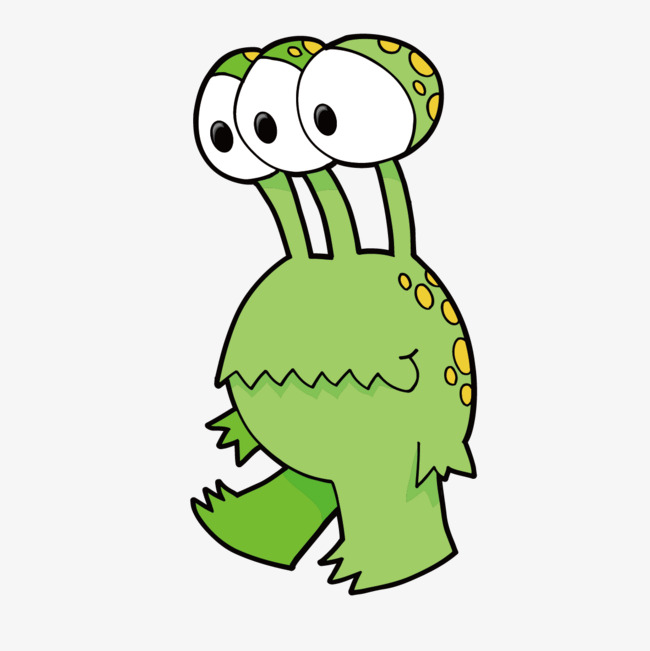 Cartoon Alien Vector PNG And Interesting Pictures Qualified 11.